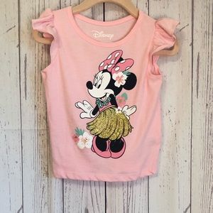 🔷BOGO🔷🆕 Minnie Mouse hula ruffle tank top 18M